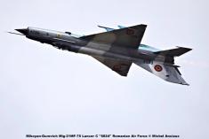 DSC_1645 Mikoyan-Gurevich Mig-21MF-75 Lancer C ''6824'' Romanian Air Force © Michel Anciaux