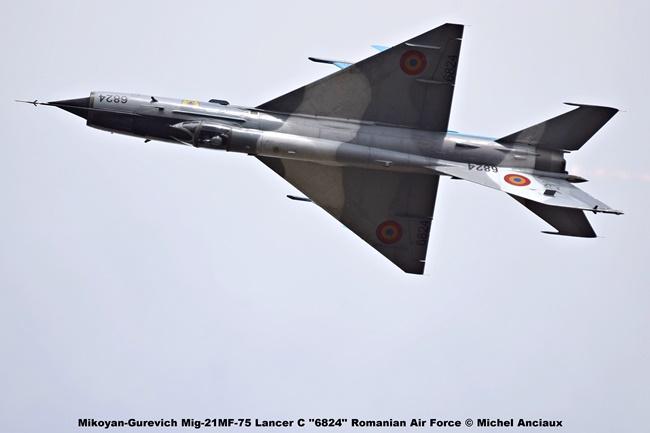 DSC_1646 Mikoyan-Gurevich Mig-21MF-75 Lancer C ''6824'' Romanian Air Force © Michel Anciaux