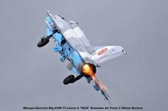 DSC_1652 Mikoyan-Gurevich Mig-21MF-75 Lancer C ''6824'' Romanian Air Force © Michel Anciaux