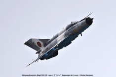 DSC_1666 Mikoyan-Gurevich Mig-21MF-75 Lancer C ''6824'' Romanian Air Force © Michel Anciaux