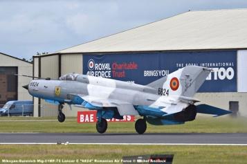DSC_1680 Mikoyan-Gurevich Mig-21MF-75 Lancer C ''6824'' Romanian Air Force © Michel Anciaux