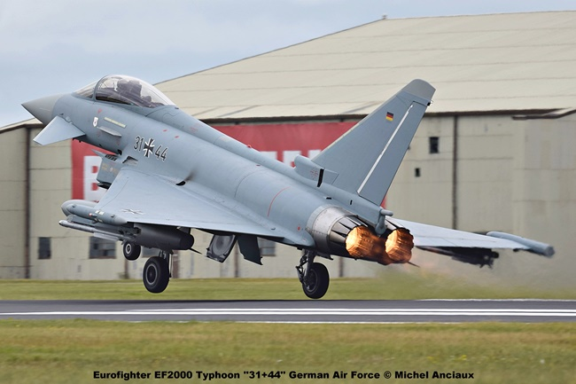 DSC_1868 Eurofighter EF2000 Typhoon ''31+44'' German Air Force © Michel Anciaux
