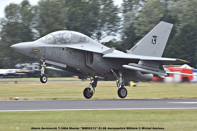 DSC_1901 Alenia Aermacchi T-346A Master ''MM55213'' 61-06 Aeronautica Militare © Michel Anciaux
