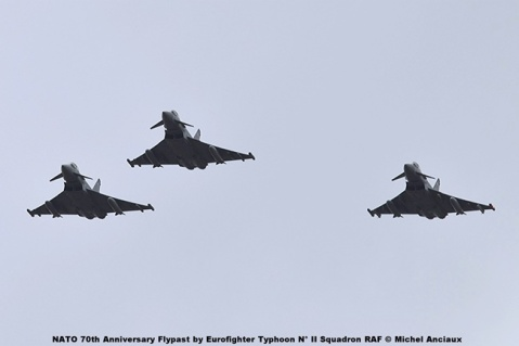 DSC_1964 NATO 70th Anniversary Flypast by Eurofighter Typhoon N° II Squadron RAF © Michel Anciaux