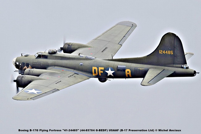 DSC_2093 Boeing B-17G Flying Fortress ''41-24485'' (44-85784 G-BEDF) USAAF (B-17 Preservation Ltd) © Michel Anciaux