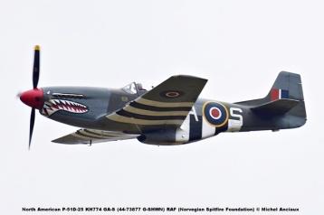 DSC_2148 North American P-51D-25 KH774 GA-S (44-73877 G-SHWN) RAF (Norvegian Spitfire Foundation) © Michel Anciaux