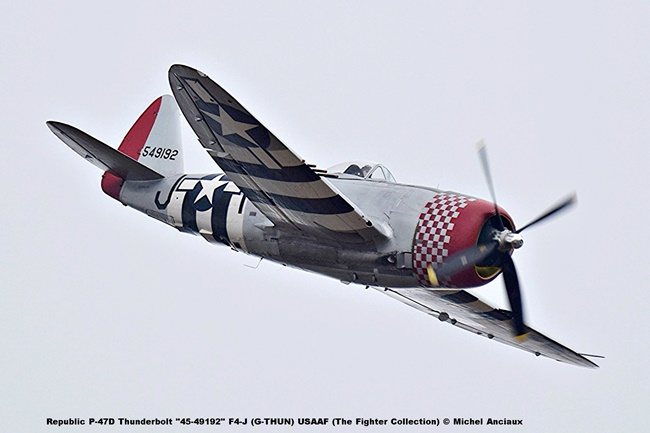 DSC_2175 Republic P-47D Thunderbolt ''45-49192'' F4-J (G-THUN) USAAF (The Fighter Collection) © Michel Anciaux