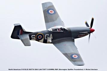 DSC_2181 North American P-51D-25 KH774 GA-S (44-73877 G-SHWN) RAF (Norvegian Spitfire Foundation) © Michel Anciaux