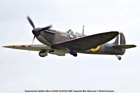 DSC_2255 Supermarine Spitfire Mk.Ia N3200 (G-CFGJ) RAF (Imperial War Museum) © Michel Anciaux