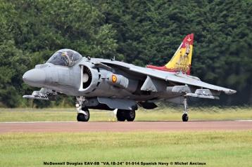 DSC_2314 McDonnell Douglas EAV-8B ''VA.1B-24'' 01-914 Spanish Navy © Michel Anciaux