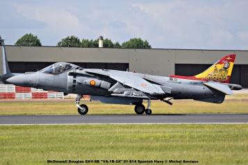 DSC_2318 McDonnell Douglas EAV-8B ''VA.1B-24'' 01-914 Spanish Navy © Michel Anciaux