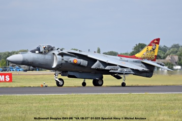 DSC_2328 McDonnell Douglas EAV-8B ''VA.1B-37'' 01-925 Spanish Navy © Michel Anciaux