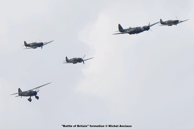 DSC_2346 ''Battle of Britain'' formation © Michel Anciaux