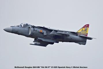 DSC_2348 McDonnell Douglas EAV-8B ''VA.1B-37'' 01-925 Spanish Navy © Michel Anciaux