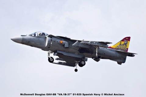 DSC_2362 McDonnell Douglas EAV-8B ''VA.1B-37'' 01-925 Spanish Navy © Michel Anciaux