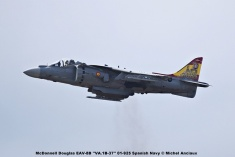 DSC_2376 McDonnell Douglas EAV-8B ''VA.1B-37'' 01-925 Spanish Navy © Michel Anciaux