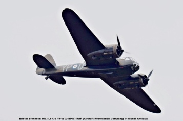 DSC_2385 Bristol Blenheim Mk.I L6739 YP-Q (G-BPIV) RAF (Aircraft Restoration Company) © Michel Anciaux
