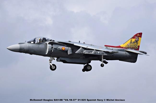 DSC_2386 McDonnell Douglas EAV-8B ''VA.1B-37'' 01-925 Spanish Navy © Michel Anciaux