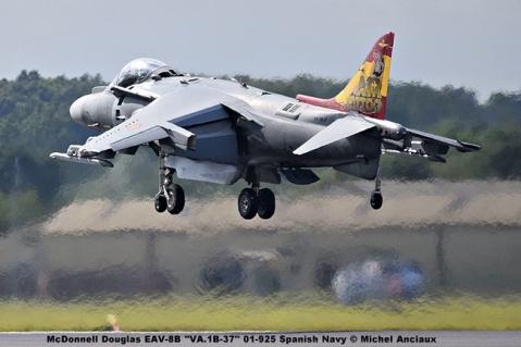 DSC_2392 McDonnell Douglas EAV-8B ''VA.1B-37'' 01-925 Spanish Navy © Michel Anciaux