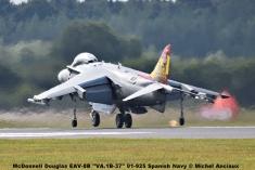 DSC_2396 McDonnell Douglas EAV-8B ''VA.1B-37'' 01-925 Spanish Navy © Michel Anciaux