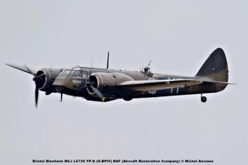 DSC_2398 Bristol Blenheim Mk.I L6739 YP-Q (G-BPIV) RAF (Aircraft Restoration Company) © Michel Anciaux