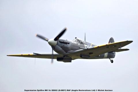 DSC_2418 Supermarine Spitfire MK Vc EE602 (G-IBSY) RAF (Anglia Restorations Ltd) © Michel Anciaux