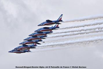 DSC_2463 Dassault-Breguet-Dornier Alpha Jet E Patrouille de France © Michel Anciaux