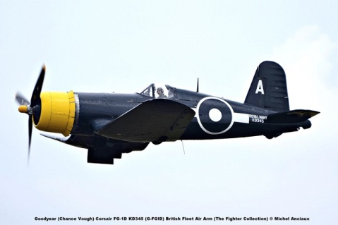 DSC_2481 Goodyear (Chance Vough) Corsair FG-1D KD345 (G-FGID) British Fleet Air Arm (The Fighter Collection) © Michel Anciaux