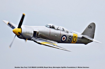 DSC_2492 Hawker Sea Fury T.20 WG655 (G-INVN) Royal Navy (Norvegian Spitfire Foundation) © Michel Anciaux
