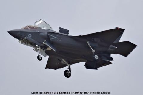 DSC_2603 Lockheed Martin F-35B Lightning II ''ZM146'' RAF © Michel Anciaux
