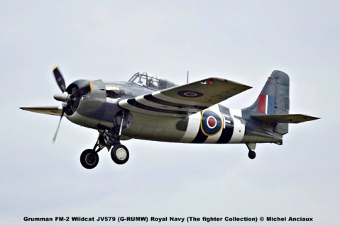 DSC_2609 Grumman FM-2 Wildcat JV579 (G-RUMW) Royal Navy (The fighter Collection) © Michel Anciaux