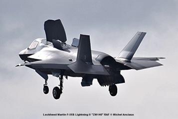 DSC_2617 Lockheed Martin F-35B Lightning II ''ZM146'' RAF © Michel Anciaux