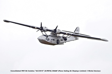 DSC_2657 Consolidated PBY-5A Catalina ''44-33915'' (G-PBYA) USAAF (Plane Sailing Air Displays Limited) © Michel Anciaux