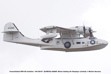 DSC_2676 Consolidated PBY-5A Catalina ''44-33915'' (G-PBYA) USAAF (Plane Sailing Air Displays Limited) © Michel Anciaux