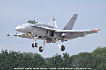 DSC_2748 McDonnell Douglas FA-18C Hornet ''HN-406'' Finnish Air Force © Michel Anciaux