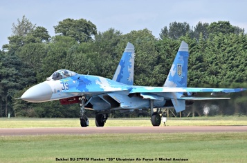 DSC_2760 Sukhoi SU-27P1M Flanker ''39'' Ukrainian Air Force © Michel Anciaux
