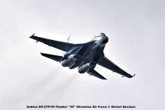 DSC_2910 Sukhoi SU-27P1M Flanker ''39'' Ukrainian Air Force © Michel Anciaux