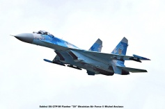 DSC_2924 Sukhoi SU-27P1M Flanker ''39'' Ukrainian Air Force © Michel Anciaux