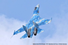 DSC_2954 Sukhoi SU-27P1M Flanker ''39'' Ukrainian Air Force © Michel Anciaux