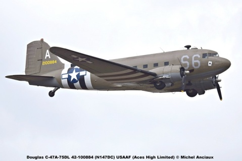 DSC_2967 Douglas C-47A-75DL 42-100884 (N147DC) USAAF (Aces High Limited) © Michel Anciaux