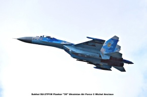 DSC_2983 Sukhoi SU-27P1M Flanker ''39'' Ukrainian Air Force © Michel Anciaux
