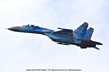 DSC_2984 Sukhoi SU-27P1M Flanker ''39'' Ukrainian Air Force © Michel Anciaux