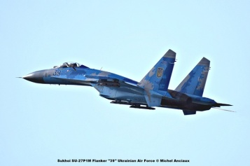 DSC_2988 Sukhoi SU-27P1M Flanker ''39'' Ukrainian Air Force © Michel Anciaux
