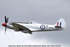 DSC_3048 Supermarine Spitfire Mk XVIII SM845 (G-BUOS) RAF (Spitfire Ltd) © Michel Anciaux