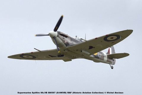 DSC_3061 Supermarine Spitfire Mk.VB BM597 (G-MKVB) RAF (Historic Aviation Collection) © Michel Anciaux