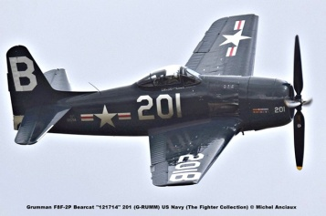 DSC_3117 Grumman F8F-2P Bearcat ''121714'' 201 (G-RUMM) US Navy (The Fighter Collection) © Michel Anciaux