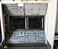 008 Control panel of the inflight refuel system of the Airbus A310-304 MRTT 10+26 Luftwaffe © Michel Anciaux