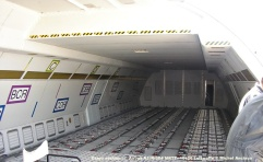 009 Cargo section of Airbus A310-304 MRTT 10+26 Luftwaffe © Michel Anciaux