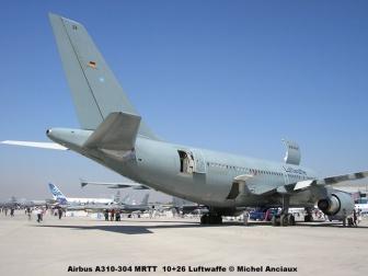 035 Airbus A310-304 MRTT 10+26 Luftwaffe © Michel Anciaux