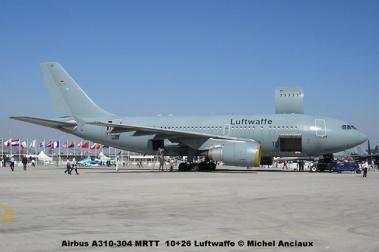 172 Airbus A310-304 MRTT 10+26 Luftwaffe © Michel Anciaux